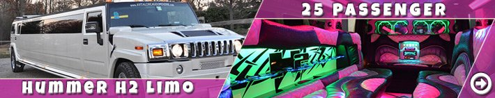 Chicago Party Buses 25 pass Hummer H2 limo